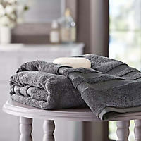 Hotel Premier Collection 100% Cotton Luxury Bath Towel by Member's Mark, Grey