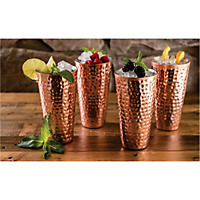 Member's Mark 20 oz. Double-Wall Copper-Plated Tumbler 4 Pk
