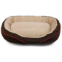 "(Free Shipping) D - Member's Mark Luxury Oval Pet Bed, 38"" - Brown"