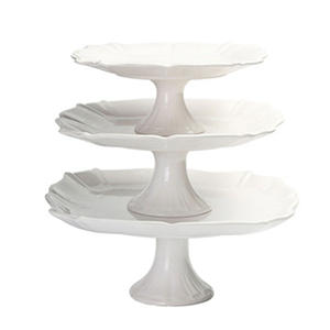 Member's Mark 3-Piece Pedestal Cake Stand Set