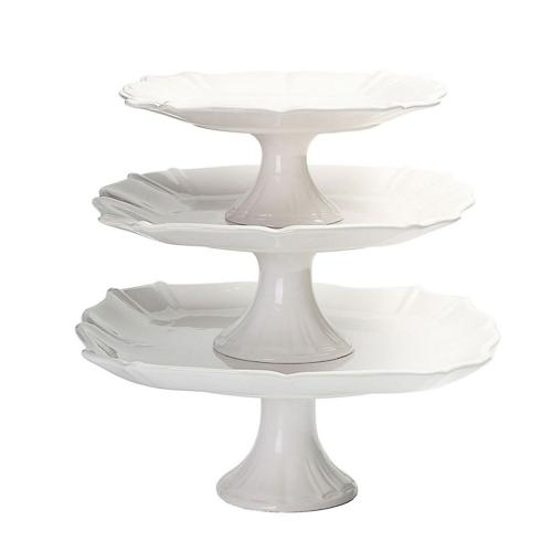 Well-liked Member's Mark 3-Piece Pedestal Cake Stand Set | SamsClub.com Auctions EC35
