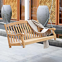 Member's Mark Porch Swing Teak