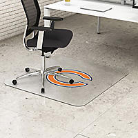 Deflecto Chicago Bears NFL Chairmat, Blue/Orange