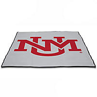 (Free Shipping) Smart Design Outdoor Mat, New Mexico Lobos
