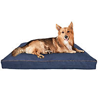 "Canine Creations Orthopedic Foam Pillow Style Pet Bed, 40"" x 30"" - Denim"