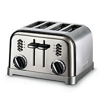 Cuisinart 4-Slice Classic Toaster, Stainless Steel