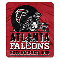 "NFL Double Sided Throw 60"" X 70"", Falcons"
