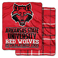 "NCAA Double Sided Throw 60"" X 70"", Arkansas State"