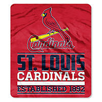 MLB Double Sided Throw 60 x 70, Cardinals