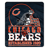 NFL Double Sided Throw 60 x 70, Chicago Bears