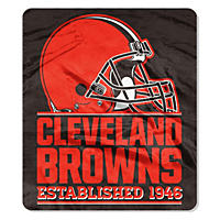 "NFL Double Sided Throw 60"" X 70"", Browns"