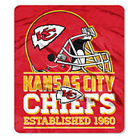 "NFL Double Sided Throw 60"" X 70"", Chiefs"