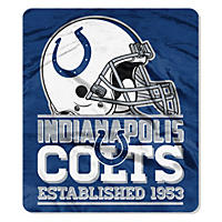 "NFL Double Sided Throw 60"" X 70"", Colts"