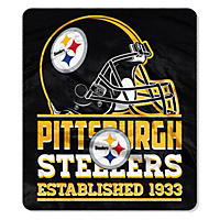"NFL Double Sided Throw 60"" X 70"", Steelers"