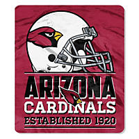 "NFL Double Sided Throw 60"" X 70"", Cardinals"