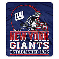 "NY Giants Throw, 60"" x 70"""