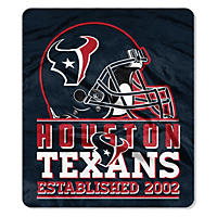 Houston Texans Double-Sided Throw