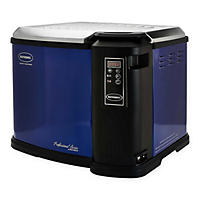Blue Butterball 22lb XXL Premium Digital Electric Fryer by Masterbuilt(Scratch & Dent)