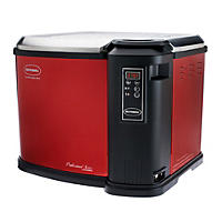Red Butterball 22lb XXL Premium Digital Electric Fryer by Masterbuilt(Scratch & Dent)
