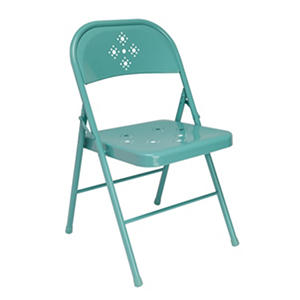Delicieux Shin Crest Decorative Metal Folding Chair, Green