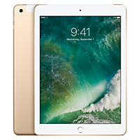 Apple iPad (2017 Model) Wi-Fi + Cellular 128GB - Gold