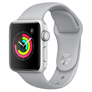 Apple Watch Series 3 38MM Silver Aluminum Case with Fog Sport Band (GPS)