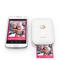 HP Sprocket Photo Printer - Various (with Bonus Pack of Zink Photo Paper - 20 Sheets)