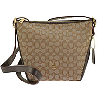 Signature Small Dufflette by COACH Brown