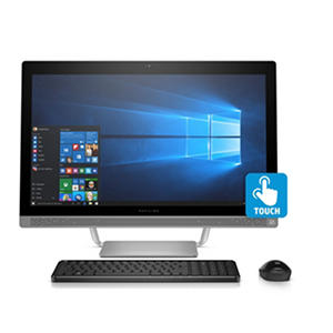 "(Free Shipping) HP Pavilion Touchscreen Full HD 27"" All-in-One Desktop, Intel Core i7-7700T Processor, 8GB Memory, 1TB Hard Drive, 10 Point Touch Display, B&O Sound, Wireless Keyboard and Mouse, Windows 10 Home"
