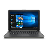 "HP 14"" HD Notebook, Intel Core i3-8130U Processor, 8GB Memory, 1TB Hard Drive, HD Webcam, HD Audio, 2 Year Warranty Care Pack, Windows 10 Home, Smoke Gray"