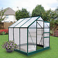Member's Mark 6' x 6' Aluminum Powder Coated Greenhouse