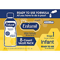 Enfamil Infant Ready-to-Use Formula (32 fl. oz., 8 pk.)