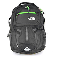 The North Face Recon Backpack, Black/Green