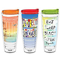 Margaritaville Tumblers, Set of 3 (Assorted Colors)