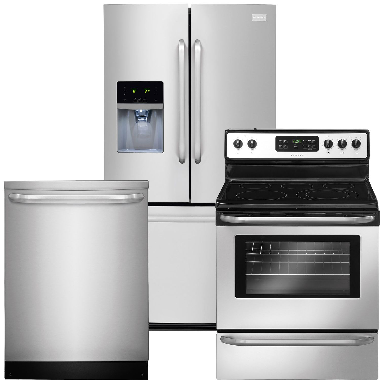 combo refrigerator appliances amazon dp and com frigidaire in stainless cu with freezer french ft door all built