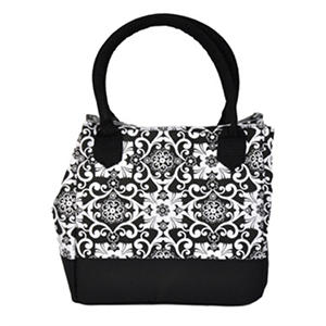 Fit Fresh Insulated Lunch Bag Black White Fl