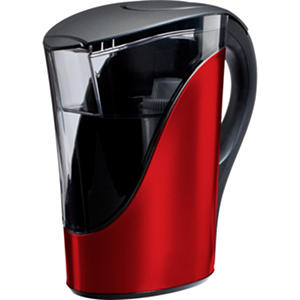 Brita Stainless Steel Water Filter Pitcher Red