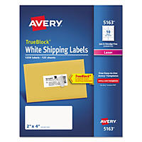 Avery TrueBlock Shipping Labels for Laser Printers, White (1,250 ct.)