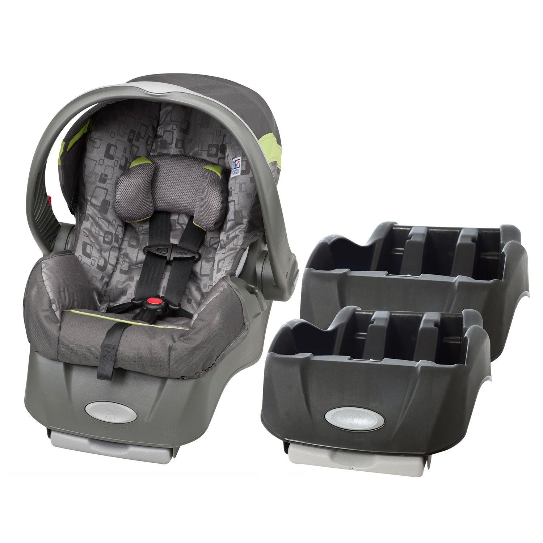 Evenflo Embrace Infant Car Seat With Extra Base