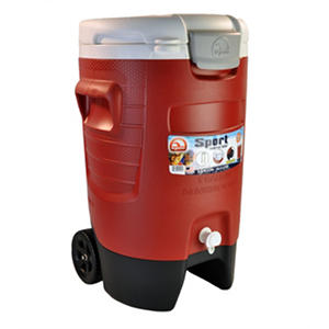 Igloo 5 Gallon Rolling Cooler Red Samsclub Com Auctions