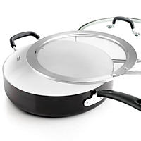 Tramontina Deep Saute Pan Set, 3-piece (Black)