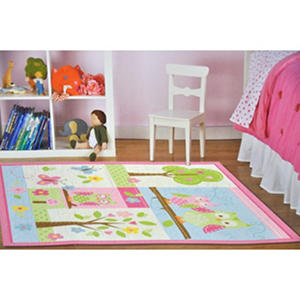Childrenu0027s Rug   Happy Owl Garden