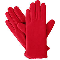 (Free Shipping)Isotoner Women's smarTouch Thermaflex Fleece Gloves, One-Size (Red)