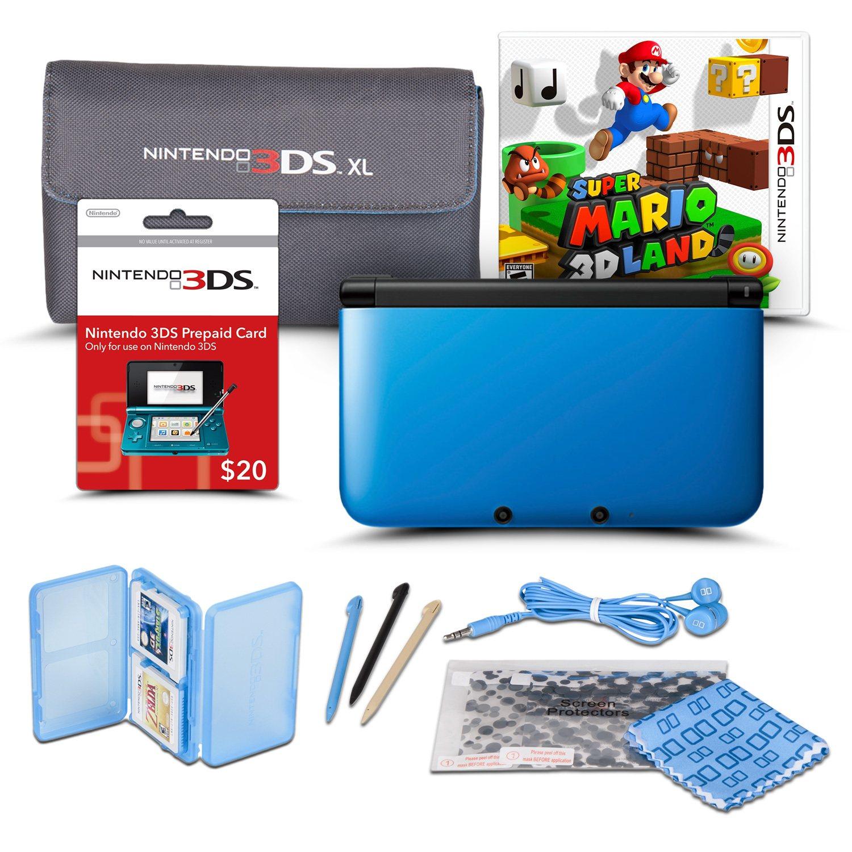 3ds xl handheld console starter bundle sam s club