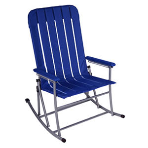 Member S Mark Folding Rocking Chair Blue Samsclub Com