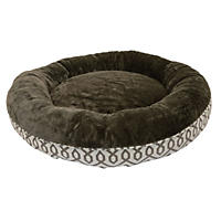 "Member's Mark Cozy Round Pet Bed, 35"" - Brown"