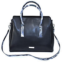 Christian Siriano Aya Satchel (Black)