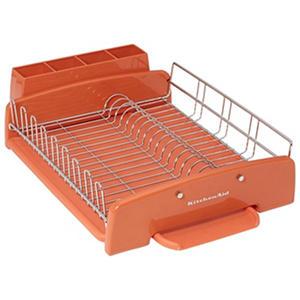 Orange Dish Rack Design Decoration