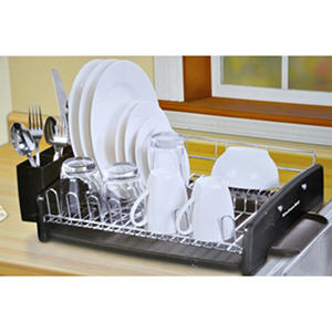 kitchenaid dish drying rack black auctions. Black Bedroom Furniture Sets. Home Design Ideas