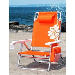 Nautica Beach Chair Orange Samsclub Com Auctions